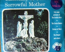 1955 VIEW MASTER reels -set of 3-  Sanctuary of Our Sorrowful Mother -Portland OR -Sawyers View Master -Religious Series -packet #A 262