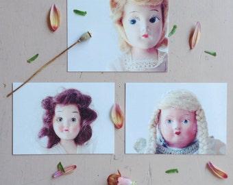 Vintage Doll Postcards