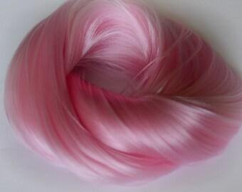 PREORDER L Hank Rosepetal Nylon Doll Hair for OOAK Custom Monster High My Little Pony Blythe