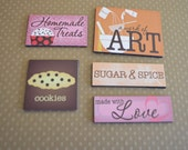 Magnets, Fridge Magnets, Refrigerator Magnets, Kitchen Magnets, Inspirational Magnets, Kitchen