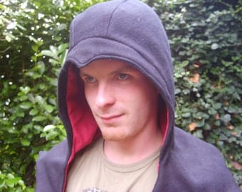 Altair's cowl from Assassins Creed in black