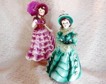 Lefton Lady Figurines