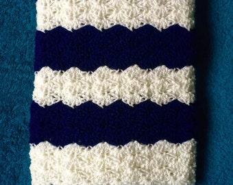 Crochet Scallop Baby Blanket
