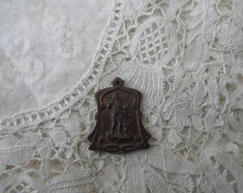 Antique pendant/fob 1910 signed