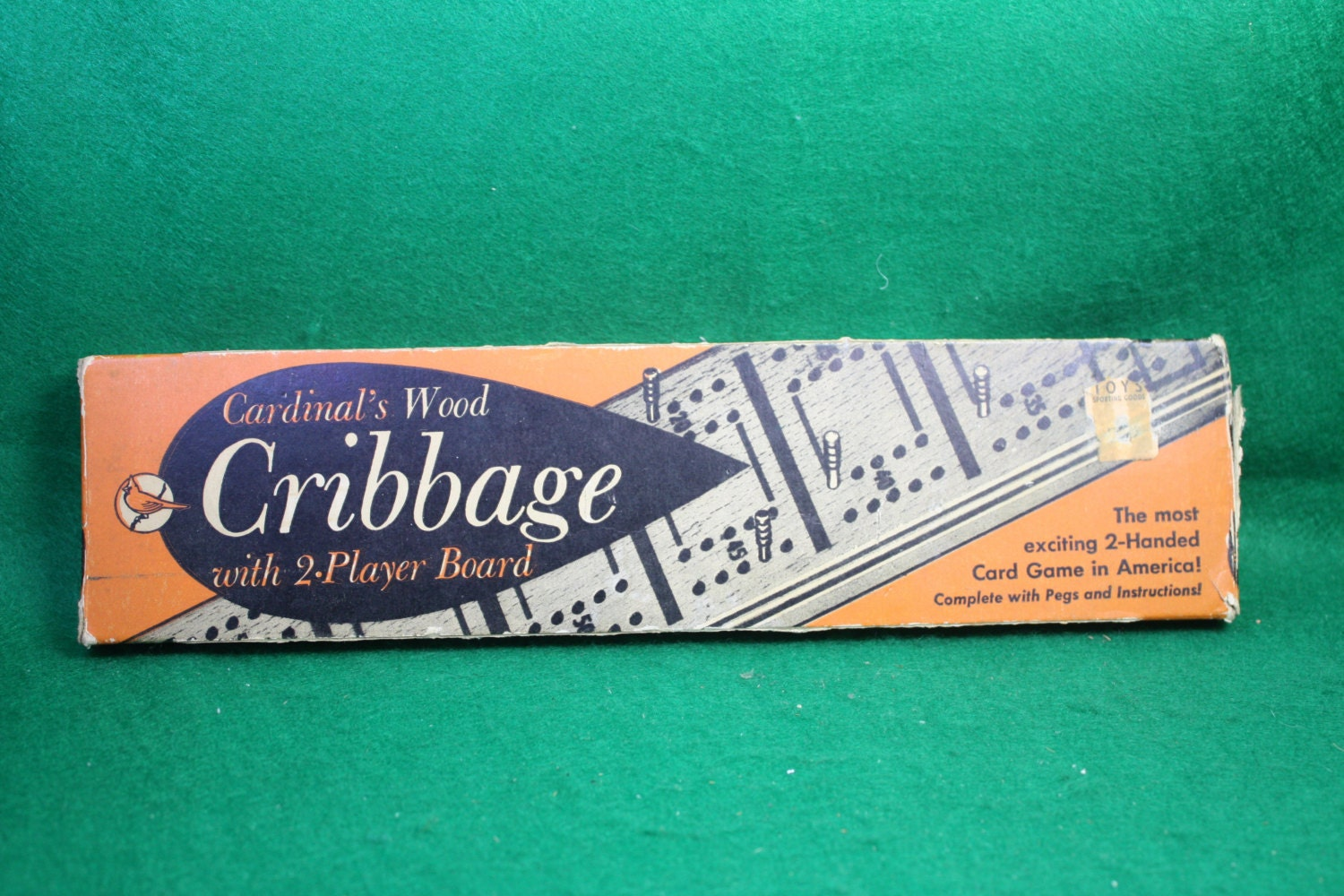 how to play cribbage with 2 players