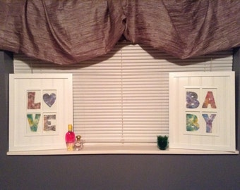 Spell it with Love- Photo Letters - Original Watercolor Letter & Character Reprints - 4x6 5x7 8x10