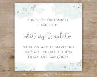 Don't use Photoshop? Add-on editing!
