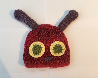 Hungry Caterpiller Baby Hat
