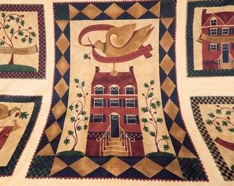 Moda Quilt Fabric - Kathy Schmitz Studio - Family and Friends Panel - SKU 5780-11