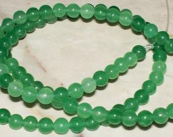 Natural Green Quartz Gemstone - 4MM