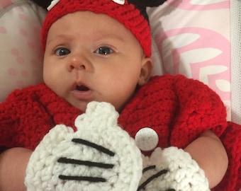 Minnie Mouse Crochet Pattern