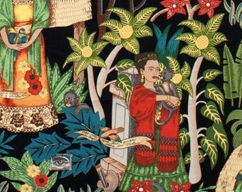 Alexander Henry - Frida's Garden - #6752BR - Black