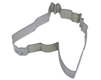 Horse Head Cookie Cutter 4.5""