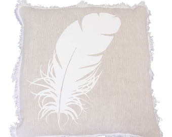 floating dream in white cushion (cover only) 50cm x 50cm