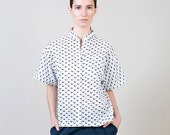 Womens blouse, womens cotton shirt
