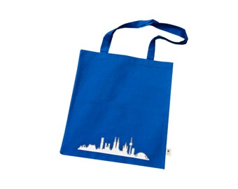 Bag made from organic cotton with Cologne-Skyline