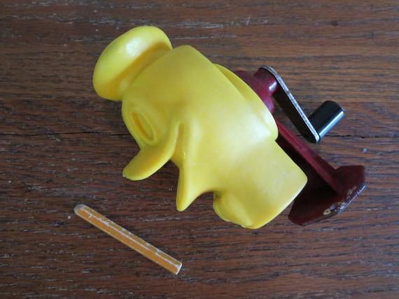 Vintage Donald Duck Pencil Sharpener Walt Disney By