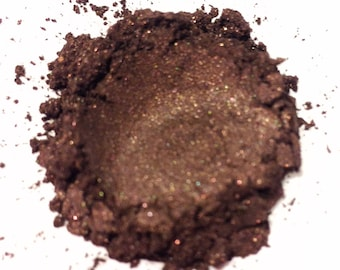 SWISS MOCHA Mineral Eye Shadow - Natural Makeup - Gluten Free Vegan Face Color