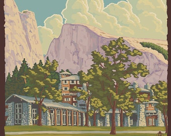 The Ahwahnee - Yosemite National Park, California (Art Prints available in multiple sizes)
