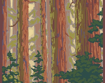 Forest View (Art Prints available in multiple sizes)