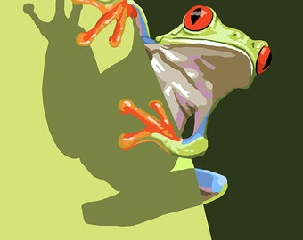 Tree Frog (Art Prints available in multiple sizes)