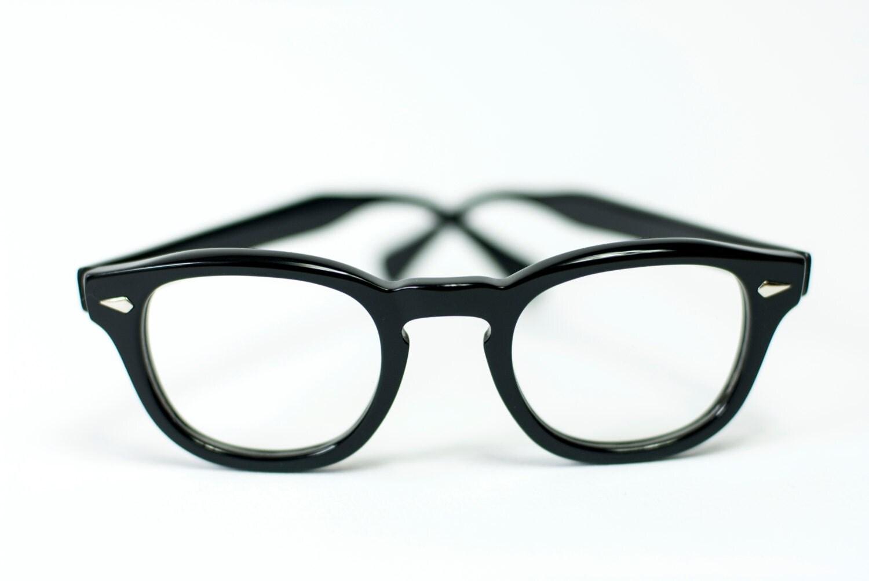 Glasses Frames Johnny Depp : Horn Rim Johnny Depp Optical Eyeglasses 44 24 Black