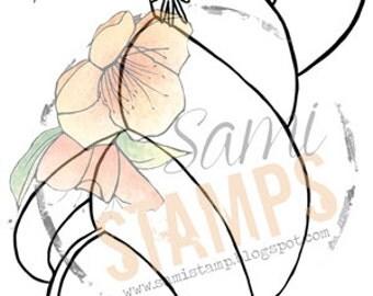 "Digital Stamp ""Shell Mermaid 4"""