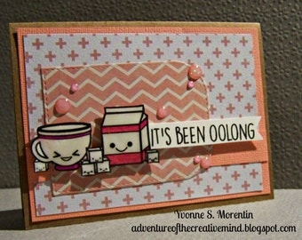 It's Been Oolong... Greeting Card