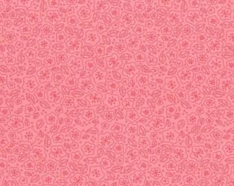 RJR Fabrics Lovebirds 2267 21 Floral Pink Yardage by Patrick Lose