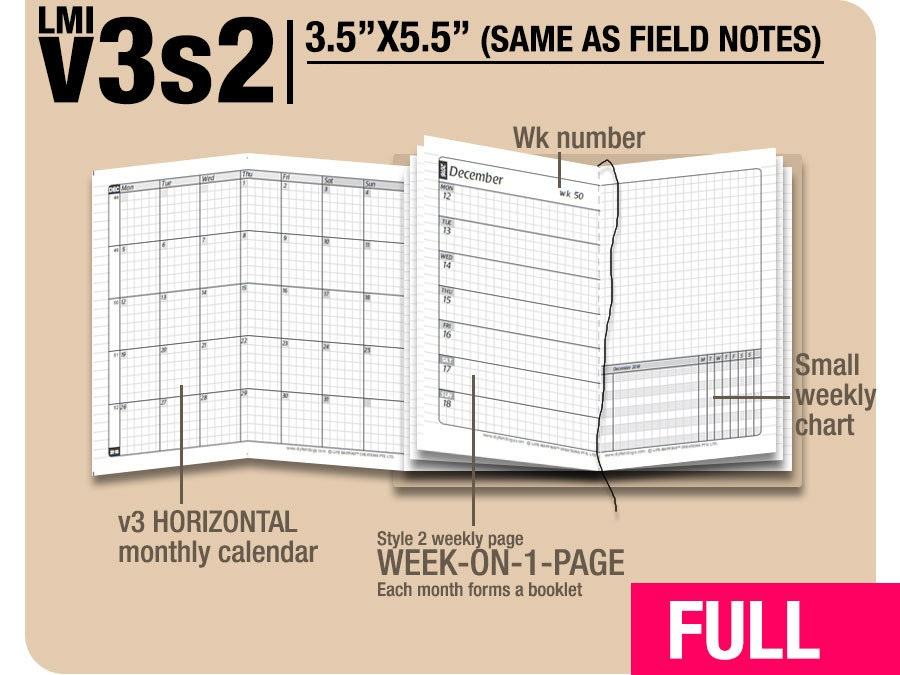 FULL Field Notes v3s2 w/o DAILY January to December 2018