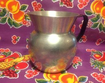 Vintage Onava aluminum pitcher- Colombia