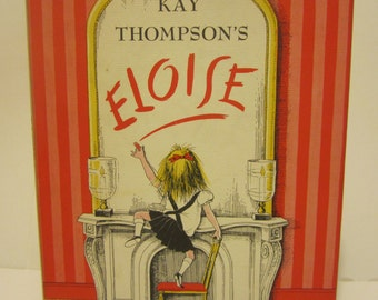 1970s Eloise Kay Thompson Hardcover with DJ