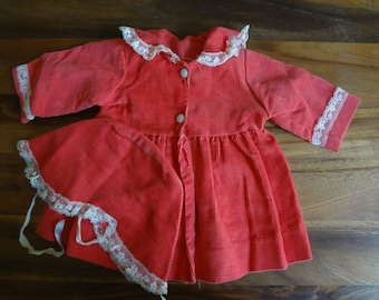 Baby doll coat and hat