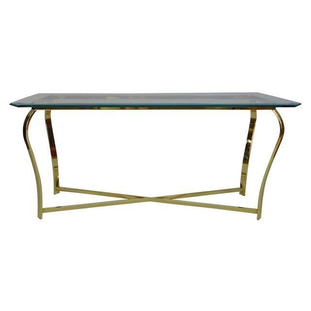 Gold sofa console table haute juice - Table haute console ...