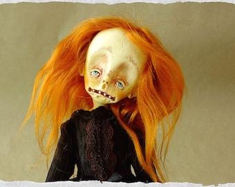 OOAK ART Doll '' Zoe ''