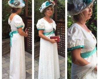 Regency Jane Austen Dress Size Medium