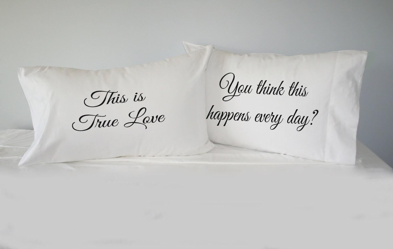 Pillow Case Gift Ideas: The Princess Bride Pillowcase Set gift for couples pillow,