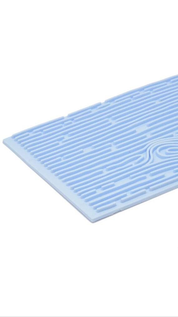 Wood Brick 2pc Impression Mat Mold Fondant Candy Gumpaste