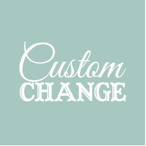 Cheap Design Changes That Have: Custom Change Small