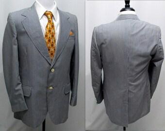 Vintage 70s Mens Sport Coat, Mens Sports Coat, Sport Coat for Men