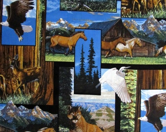 Per Yard, America the Beautiful Fabric