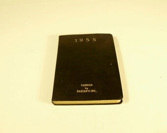 Vintage 1955 Diary by Dazian Inc.