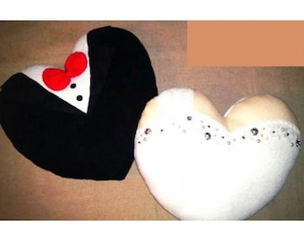 Wedding gift - Handmade  Pillows case apprx. 18 in x 18 in (set of 2)
