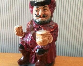 Vintage Falstaff Royal Doulton Figurine Toby Jug