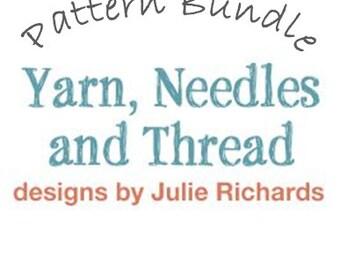 Owl Knitting Pattern Bundle