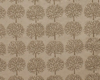 The Ghastlies - A Ghastlie Forest Alexander Henry 100% Cotton Fabric Brown Mist