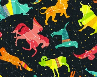 Outer space fabric etsy uk for Outer space fabric uk