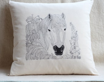 Horse - Pony - Cushion Cover
