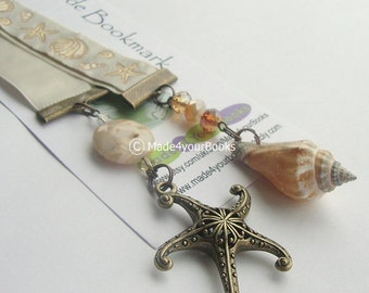 Dreaming of the Sea ribbon bookmark