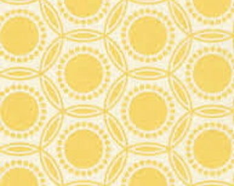 HEIRLOOM by Joel Dewberry - Fabric - OPAL in Dandelion - Free Spirit Fabrics - Quilting - Sewing - Home Decor - Crafting - Yellow